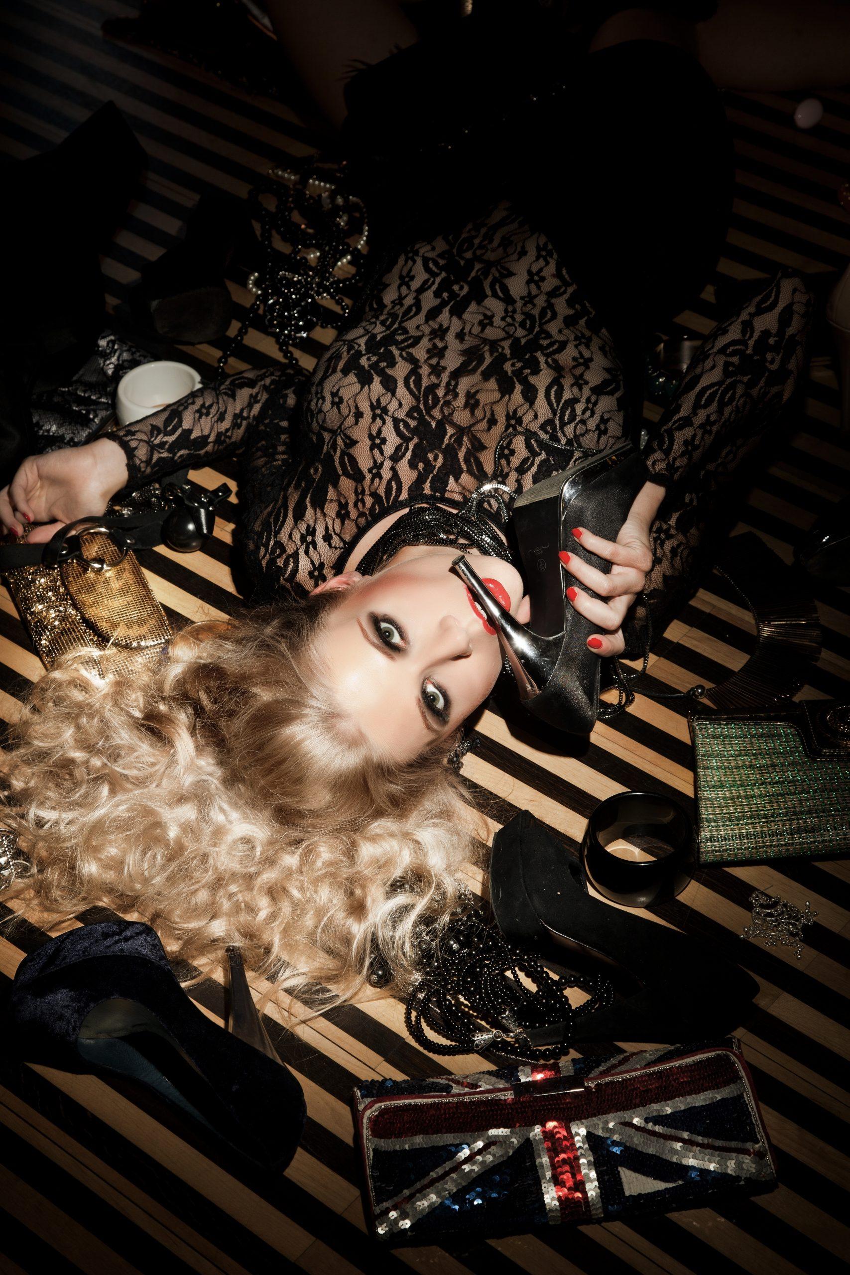 Blonde, glamour, cinématographique